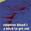 Amanuensis: emperor blood