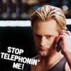 Stop telephonin Eric