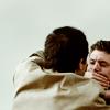 poetess_noire: Dean/Cas; hand over mouth