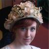 hat, pretty, flower