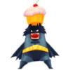 batman loves cupcakes