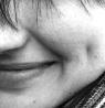 край улыбки