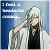 Ukitake Jyuushiro: Through it all {Oncoming headache}