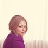 Alba DeTamble: plait purple jacket