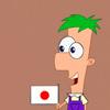 Ferb loves Japan