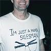 Ms Dref: candid - Just a paper salesman