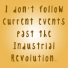 Carrie Leigh: I don't follow events past the industria