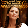 Kahlan - can't hear you over my own awes