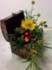 сундук с цветами