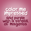 hummingfly67: Quote - color me impressed