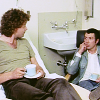 Bodie/Doyle tea in hospital