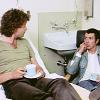 Bodie/Doyle tea in hospital
