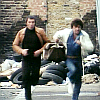 Bodie/Doyle running towards us