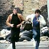Bodie/Doyle running towards us