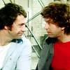 Bodie/Doyle looking at each other