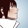 Sasuke looking up