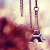 C.a.t.h.i.e: Eiffel Tower keychain