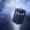 Dr. Who: Tardis in flight