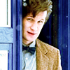 doctor who: eleventh doctor w/ tardis