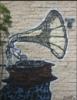 phonograph, giraffe