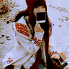 girl polaroid