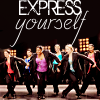 Kirke: Glee Express Yourself