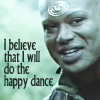 Teal'c dances