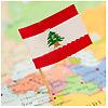 Lebanon. Flag