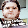 again with the blarg: Hurley Time