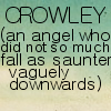 Good Omens: Crowley