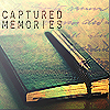 writing captured memories journal