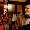ThroughAnAmberFocus: Eleven and Amy--Smiling