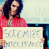 MJ: GLBT: Russell Brand sodomize intolerance