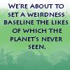 weirdness baseline
