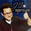 Nadine: [celebs] JJ Abrams *approves*