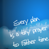Lyric: Every plan is a tiny prayer | DCF