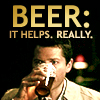 Alex: SPN Cas Beer helps