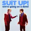 merlin, slash, Shut up we're going on a date, arthur