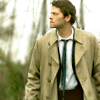 Castiel  in the woods