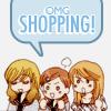 anime/ girlfriends omigod shopping