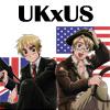 EnglandxAmerica Action Heroes