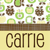 Carrie Leigh: Carrie green apples