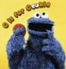 self-proclaimed cookie monster: c is for cookie