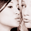 people // naya and heather // almost kis