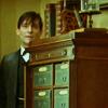 queensjoy: Mystery - Sherlock hiding behind the bur
