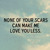 text: i love your scars