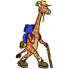 жираф-путешественник