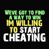 Cheating = A Way to Win