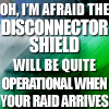 Jenny that is called Jenny: Disconnector shield