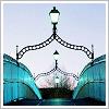Künstliches Mädchen | ☘Lara Kelley Gallagher☘: Ireland~Dublin Ha'penny Bridge
